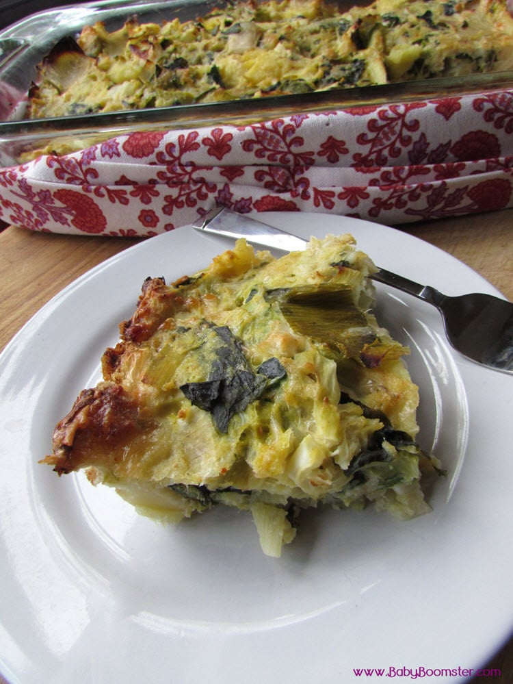 Baby Boomer Recipes | Italian | Rustic Italian Frittata