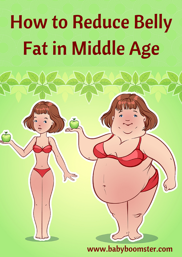 How to Reduce Belly Fat in Middle Age
