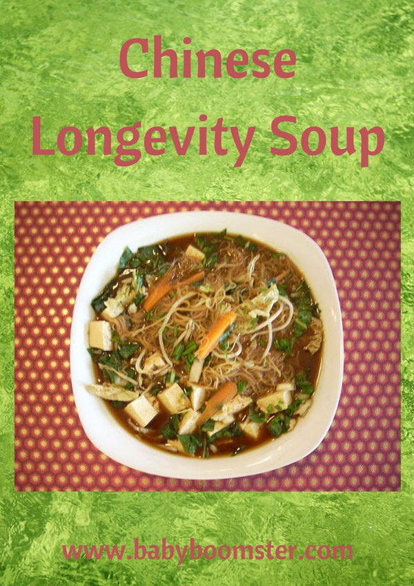 Baby Boomer Recipes | Soup | Chinese Longevity Soup
