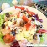 Shrimp Salad with Turmeric Dressing