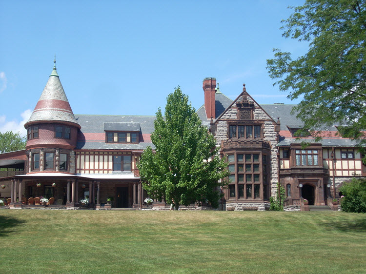 Sonnenberg Mansion in Canandaigua, New York