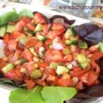 Baby Boomer Recipes | Spain | Spanish Tomato and Olive Salad