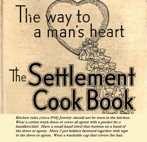 From Moms Old Cookbook Circa 1941 - Nostalgia