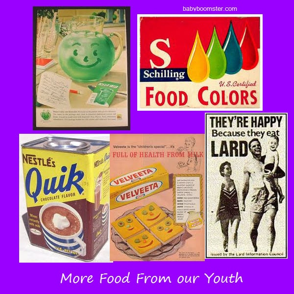 More Food From Our Youth - Nostalgia