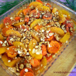 Yam and Cashew Peach Bake