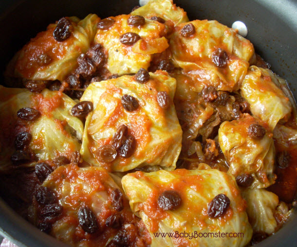 Baby Boomer Recipes | Russian Style Stuffed Cabbage