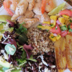 Costa Rican Chicken Shrimp and Mango Salsa