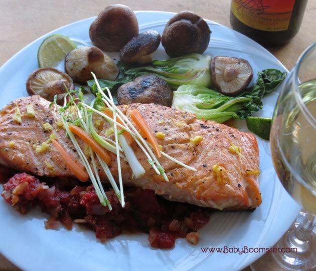 Baby Boomer Recipes | Women Over 50 | Citrus Wild Salmon