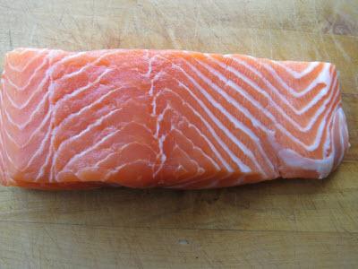 Wild Salmon Raw
