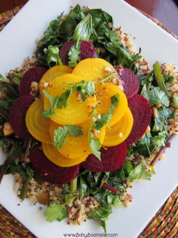 Baby Boomer Recipes | Salad | Baby Beet - Quinoa