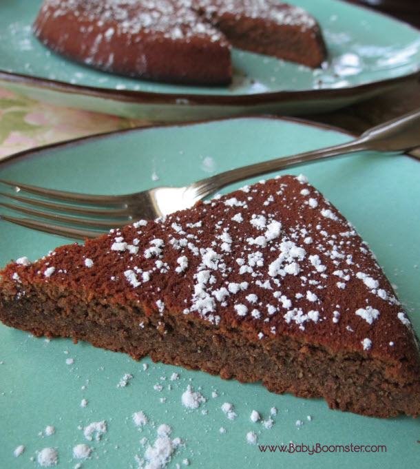 Baby Boomer Recipes | Chocolate Almond Torte