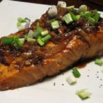 Whiskey Glazed Salmon