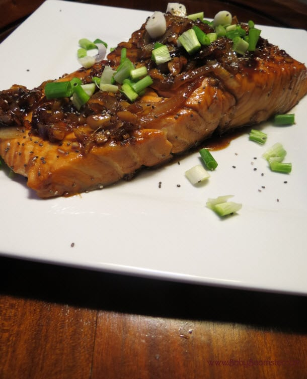 Salmon is amazingly healthy to eat but it tastes amazing cooking with a little whiskey #food #salmon #foodie #whiskey