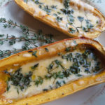 Delicata Squash with Gouda