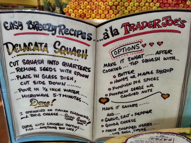 Delicata squash recipes from Trader Joe