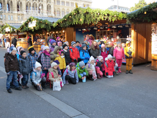 Children Vienna Christmas Market