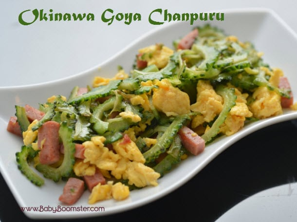 Baby Boomer Recipes | Japanese | Okinawa Goya Chanpuru Stir Fry