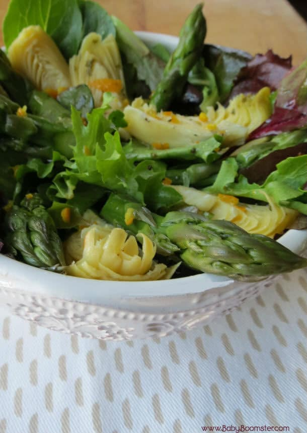Asparagus and Artichoke Heart Salad Recipe