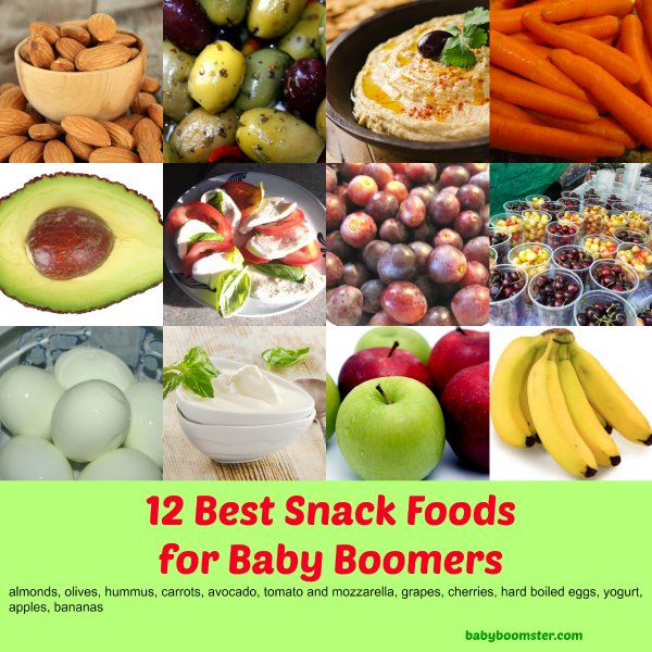 Baby Boomer Women | Nutrition | Best Snack Foods