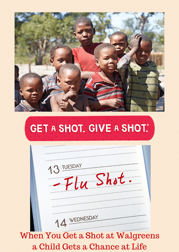 You Get a Shot a Child Gets a Chance at Life #GetaShot #CollectiveBias