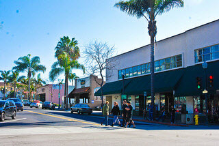 Downtown Ventura California