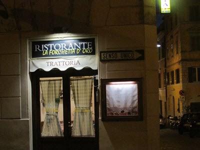 Baby Boomer Travel | Italy | Ristorante La Forchetta D Oro