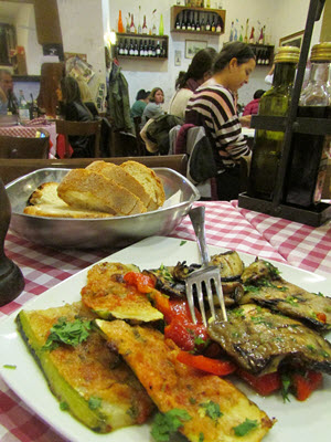 Baby Boomer Travel | Italy | Roasted Vegetables - Rome