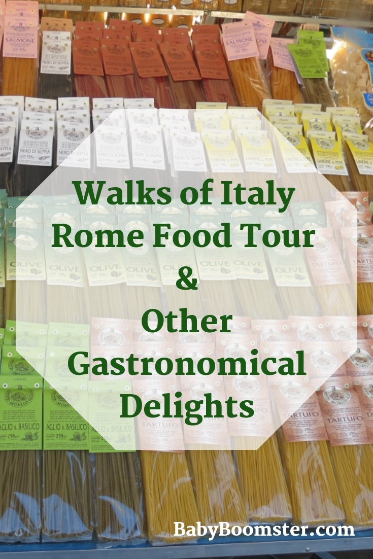 Walks of Italy #Rome #foodtour and other gastronomical delights. Rome is an amazing place to be if you're a #foodie We went on a food tour and ate our way through #Italy #travel #travelblogger #Romevacation #foodinRome