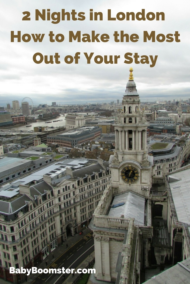 Things to do in London when you have a short stay. Make the most of your vacation and see as much as you can without breaking a sweat. #VisitLondon #London #BigBusTour #WinterinLondon