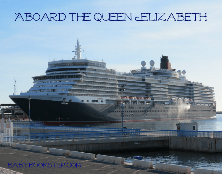 Aboard the Queen Elizabeth