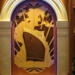 Baby Boomer Travel | Cruising | Cunard Queen Elizabeth - Deco inlaid wood art