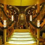 Baby Boomer Travel | Cruising | Cunard Queen Elizabeth - deco stairs