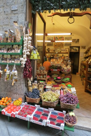 Fruit and Vegetable Store Siena Italy