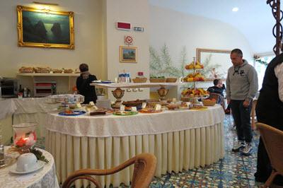 Hotel Breakfast Antiche Mura Sorrento Italy
