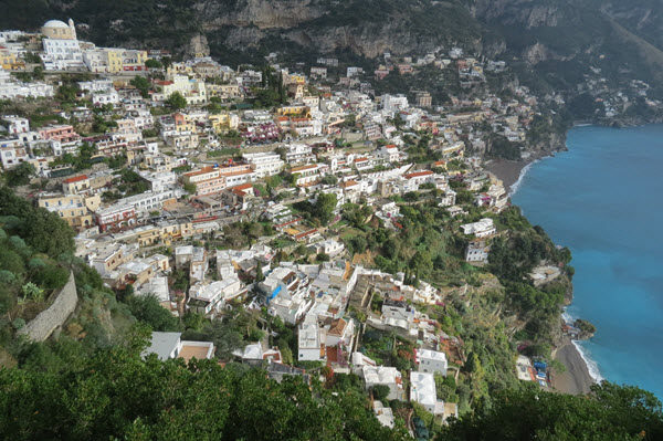 Boomer Travel | Italy | View of Positano