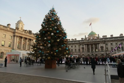 Baby Boomer Travel | London | Somerset House Winter