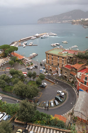Boomer Travel | Italy | Sorrento Marina in December