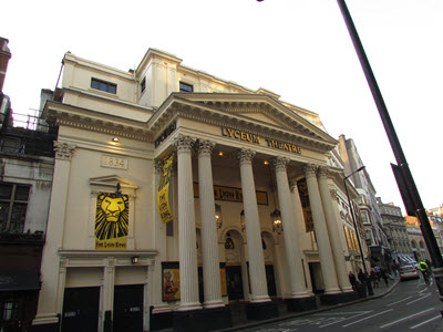 Baby Boomer Travel | London | The Lyceum Theatre