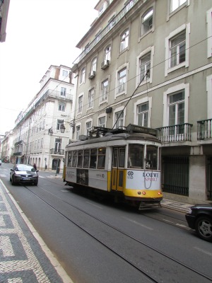 Trolley in Lisbon Portugal