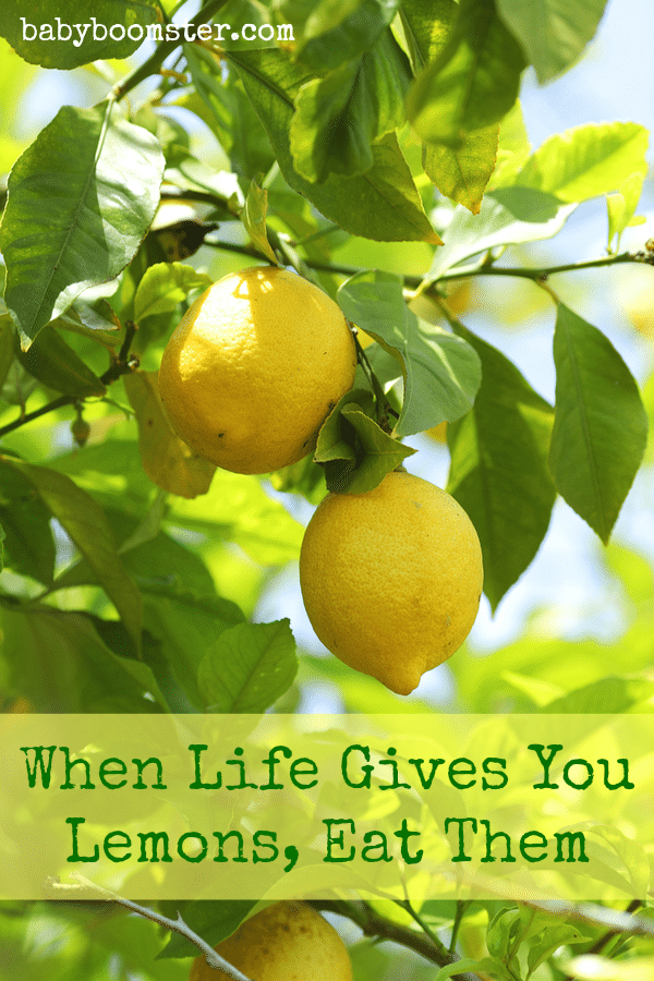 When Life Gives You Lemons Eat Them