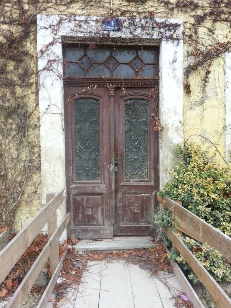 Door in Melk Austria