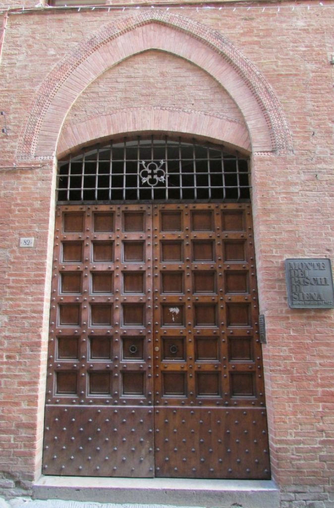Door in Siena
