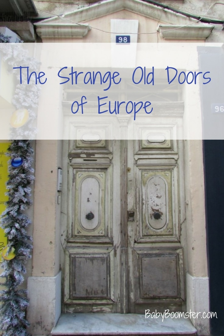 Baby Boomer Travel | Old Doors of Europe | Saint Tropez, France