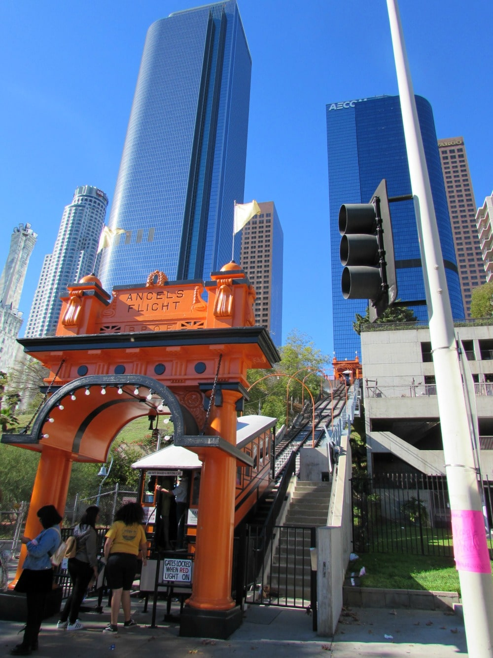 Boomer Travel | Los Angeles | Angel's Flight
