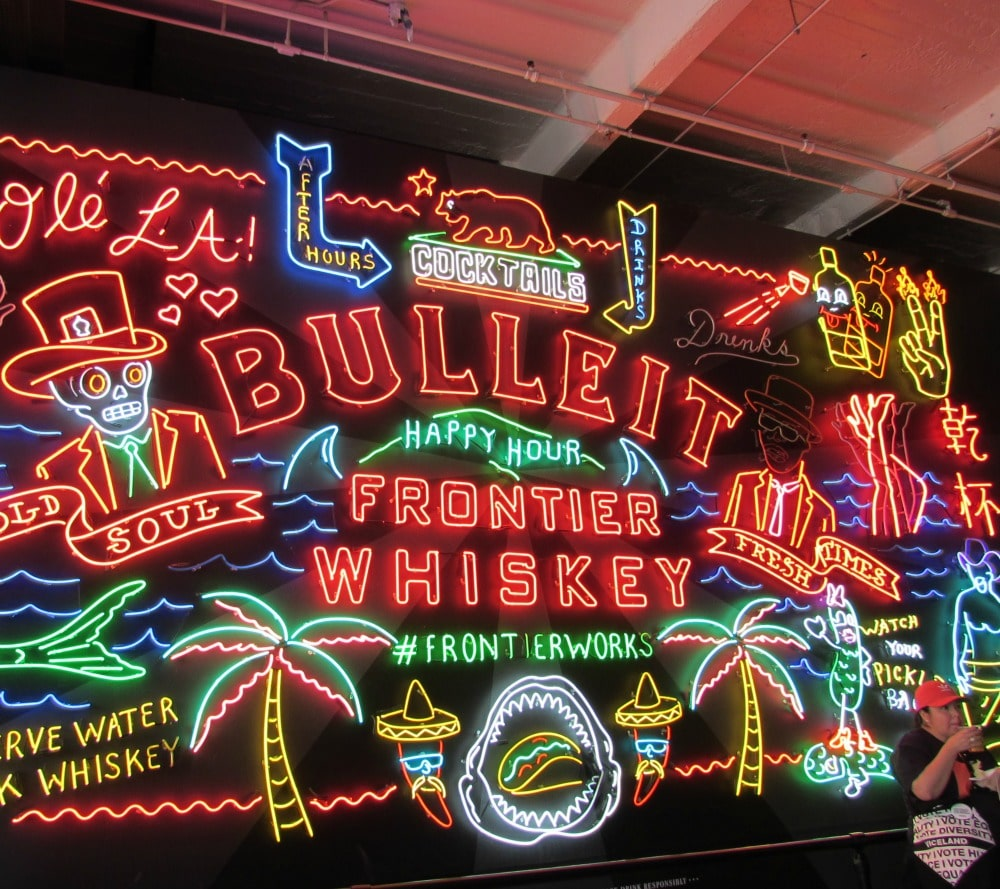 Boomer Travel | Los Angeles | Grand Central Market - Neon