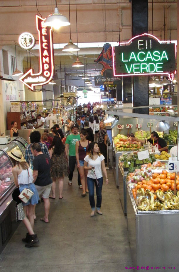 Baby Boomer Travel | Los Angeles | Grand Central Market