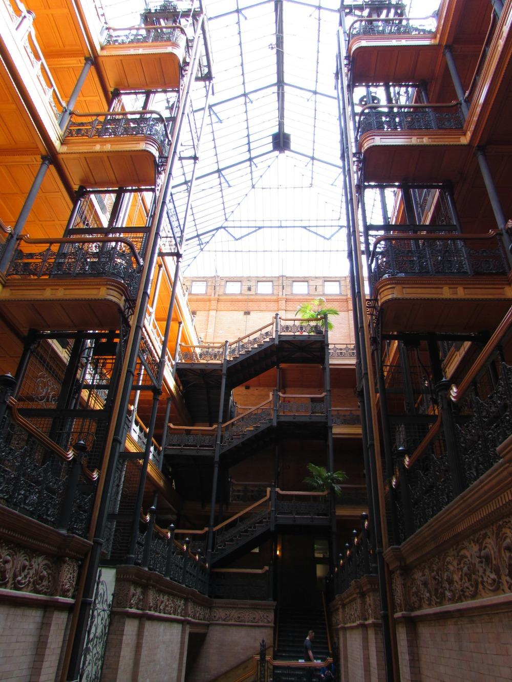Inside the Bradbury Building