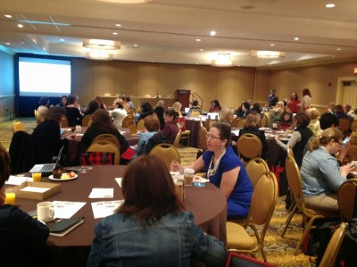 Midlife girlfriends at Bloggers at Midlife Conference