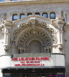 The Million Dollar Theatre in Downtown Los Angeles was built in 1918 and is now used as a location for movie filming. #oldtheater #oldmovietheater #losangeles #LAtheaterdistrict