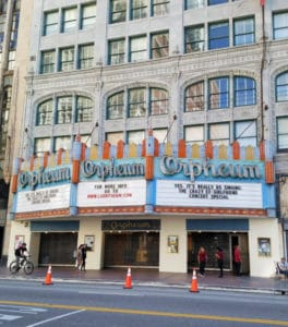 The Orpheum Theatre in Los Angeles opened in 1926 and hosted some of the most notable names in show business during that era. #oldtheater #oldmovietheater #losangeles #LAtheaterdistrict